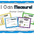 I Can Measure Anchor Charts