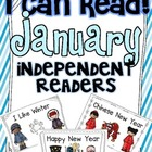 I Can Read! Independent Readers {January}