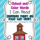 I Can Read: School and Color Words