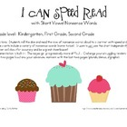 I Can Speed Read {Nonsense Word Fluency}