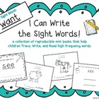 """I Can Write the Sight Word WANT"" Mini Book"