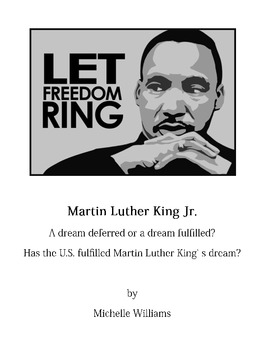 expository essay that critiques martin luther kings i have a dream speech