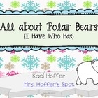 I Have Who Has 0-20 {All About Polar Bears}