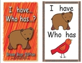 I Have… Who Has…? Brown Bear Edition