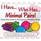 I Have Who Has Minimal Pairs