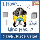 I Have - Who Has - Place Value - 4 Digit Numbers