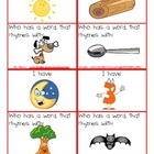 I Have, Who Has Rhyming-with Pictures
