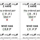 I Have Who Has - graphing ordered pairs (2)