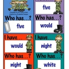 I Have...Who Has...? Game - Basic Sight Words.7