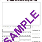 I Know An Old Lady Remix-Write a New Version Worksheet