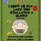I Know An Old Lady Who Swallowed A Clover Book Activities