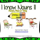I Know Nouns a Literacy Center Game
