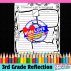I Learned a Lot in 3rd Grade {end of year poster activity}