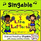 Letter Song! I Like Letters Song and Student Extension