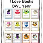 I Love Books OWL Year