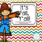 I Love Fall Literacy Centers - Comprehension and Word Knowledge