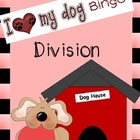 I Love My Dog Division Bingo Game