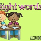 I Love Sight Words {Practice Pages}