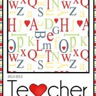 I Love Teaching- Teacher Planbook 2012-2013