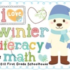 I Love Winter Literacy and Math
