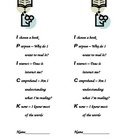 I-Pick Bookmarks for Students (Helps students when choosin
