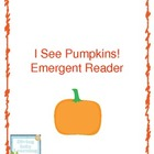 I See Pumpkins! Printable Book