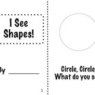 I See Shapes Mini-Book