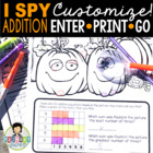 I Spy Addition Facts ~Halloween Edition~
