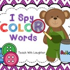 I Spy Color Words