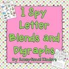 I Spy - Find the Picture - Blends and Digraphs