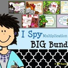 I Spy Multiplication Facts ~BIG Bundle!~
