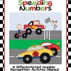 I-Spy Speeding Numbers-Differentiated Number Recognition C