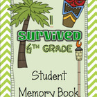*I Survived 6th Grade* End of Year Memory Book for Big Kids