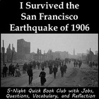 I Survived the San Francisco Earthquake of 1906 literature