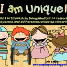 I am Unique! Back to School Arts Integrated Unit
