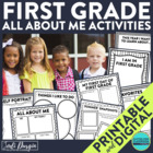 I am a First Grader: A 10-Page, No Prep, Back-to-School Ac