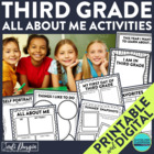 I am a Third Grader: A 10-Page, No Prep, Back-to-School Ac