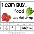 I can... buy food using Money Dollar Up Adapted Book Speci