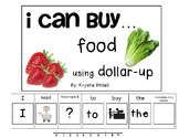 DOLLAR UP: Buying Food Adapted Book Special Education Autism