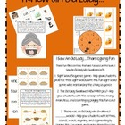 I know and Old Lady...Thanksgiving Fun Packet