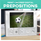 I know...Prepositions Soccer Edition Adapted Book Special