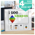 I see...How Many? Color? What? Shape  Adapted Book Special