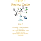 ISTEP+ Social Studies Review Guide Unit 7