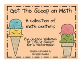 Ice Cream Activities - A Collection of Math Centers