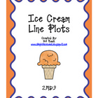 Ice Cream Line Plot