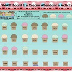 Ice Cream Themed SMART Board Attendance Activity