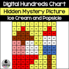 Ice Cream and Popsicle Hundreds Chart Hidden Picture Activ