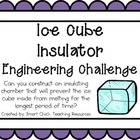 Ice Cube Insulation: Engineering Challenge Project ~ Great
