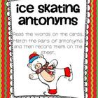 Ice Skating Antonyms Freebie