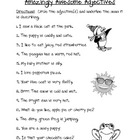 Identifying Adjectives and Nouns